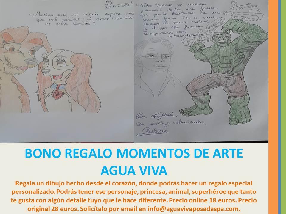 BONO REGALO MOMENTOS DE ARTE - AGUA VIVA